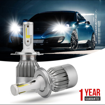 ISincer C6 h4 led ampul H7 H11 H1 9005 COB Led Araç far Ampul Kiti 80 W 8000LM otomobiller Far 6000 K Ön Işık led 12 v