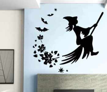 Vinyl Removable Halloween Wall Sticker Home Decor Home Decoration wall decals